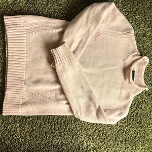 J Crew pink sweater